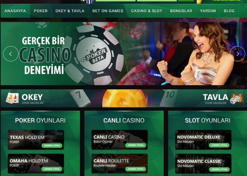 En İyi Poker Siteleri Nelerdir
